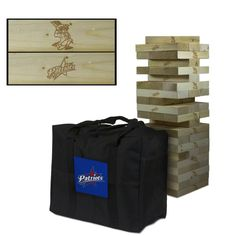 Francis Marion University Patriots Giant Wooden Tumble Tower Game