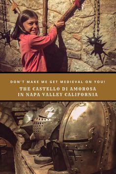 Castello di Amoroso in Napa Valley is a family friendly winery