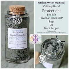 Stir some magick into your recipes with the Kitchen Witch Magickal Culinary Blends from Inked Goddess Creations. Each herbal blend has been specially formulated with herbs to suit each intent.