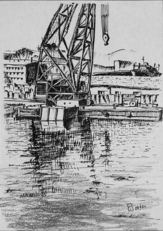 Poland ,  Gdynia shipyard berth