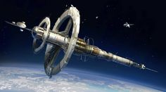FUSE Soviet Space Station by MeckanicalMind. A practical concept, future space stations must spin for centripetal force gravity,otherwise bone loss and muscle atrophy will limit individual time on station.