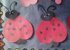 Valentines Day Craft for Kids! >>> Valentines Day Love Bugs madamedeals.com/...