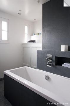 bonnesoeurs decoration maison familiale 24 salle de bain baignoire beton ciree