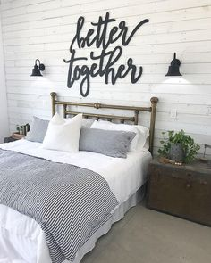 Home decor bedroom - Sponsors for the Farmhouse Build with Cottages and Bungalows Magazine Cottages And Bungalows, Farmhouse Remodel, Farmhouse Style, Rustic Farmhouse, Farmhouse Design, Rustic Bed, Modern Farmhouse Bedroom, Ship Lap Walls, Suites