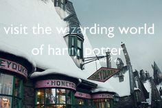 Bucket List - Wizarding World of Harry Potter....DONE! Butter beer was awesome!
