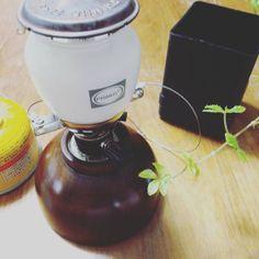 *ポチッと。さてキャンプへ*:【簡単】自分で作る!ランタン用のウッド製ガス缶カバー