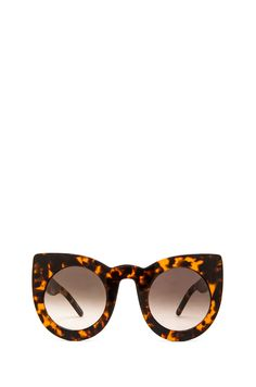 VALLEY EYEWEAR Wolves in Mid Tort & Brown Lens from REVOLVEclothing