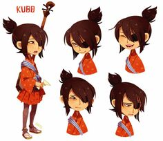 Character Study - Kubo by aryllins on DeviantArt