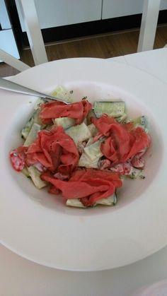 Fodmap salade met rosbief Fodmap, Bruschetta, Ethnic Recipes, Food, Salads, Essen, Meals, Yemek, Eten