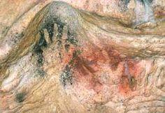 """""""Mains de Gargas"""" , grotte de Gargas, Haute Pyrénées"""