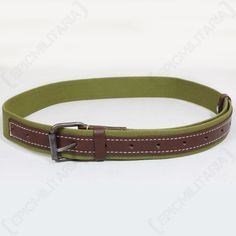 a7f3fcd814728 WW2 Soviet Canvas Belt Army Uniform