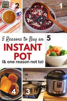 So much hype! Is the Instant Pot going to be a quick fad or is it really worth it? From one who left it in the box for 6 months, here are the top 5 advantages of the Instant Pot.