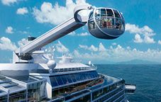 North Star - coming soon to a dock near you - Quantum of the Seas - sometime in 2014