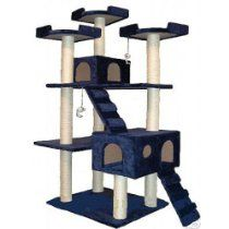 Large cat trees are awesome. They give your kitties lots of room to romp and play :)