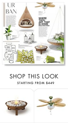 """""""Urban..."""" by desert-belle ❤ liked on Polyvore featuring interior, interiors, interior design, home, home decor, interior decorating, EcoSmart Fire, polyvoreeditorial, houzz and fredfrety"""