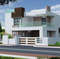 house front design house front elevation designs for single floor south facing ETDOCQE 2 Storey House Design, Duplex House Design, House Front Design, Small House Design, Modern House Design, Front View Of House, Indian Home Design, Kerala House Design, Independent House