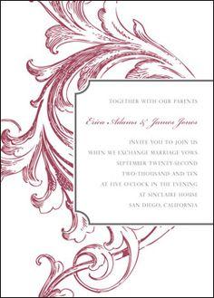 Free Invitation Template #2 :  wedding invitation templates wedding invitations 338972 Thumb