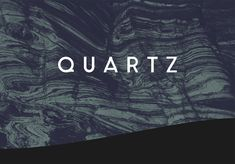 QUARTZ is a minimalistic sans-serif typeface with a twist. Designed in one week for a school assignment at The School for Visual Communication, Denmark. Free Typeface, Sans Serif Typeface, Best Free Script Fonts, Cool Fonts, Brush Script, Lettering, Typography Logo, Luxury Font, Commercial Use Fonts