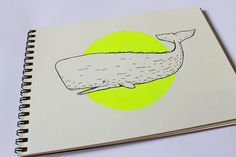 Whales are cool! Whale Illustration, Piece Of Me, Whales, Drawing S, My Works, Line Art, Markers, How To Draw Hands, Cool Stuff