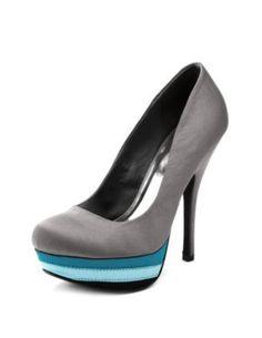 Grey top, blue block....
