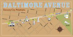 Baltimore Corridor, West Philly