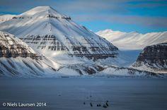 Tempelfjord, Spitzbergen