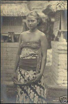 Indonesia, Bali, hermoso joven Native Girl 1930 RPPC   Objetos de colección, Postales, Ciudades y pueblos internacionales   eBay!