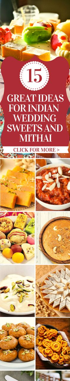 Any good Indian wedding is incomplete without its different varieties of mithai, or Indian sweets. Take our delicious mithai tour and discover the best sweets for your Indian wedding! Indian Wedding Favors, Indian Wedding Ceremony, Diy Wedding Favors, Wedding Ideas, Wedding Lunch, Wedding Sweets, Spring Wedding Decorations, Summer Wedding Colors, Diy Wedding Planner