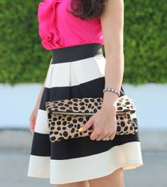 Stripes, Leopard and Pink.