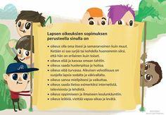 Lasten oikeuksia Preschool, Family Guy, Teacher, Opi, Cover, Books, Anna, Fictional Characters, Friends