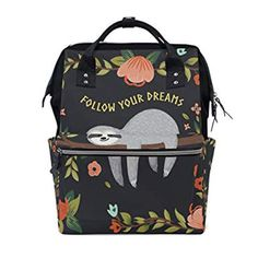 Cute sloth themed baby stuff - from clothing to nursery and gift ideas for your sloth-loving friend. Bring the latest trendy gift to your next baby shower! Baby Sloth, Cute Sloth, Baby Diaper Bags, Diaper Bag Backpack, Bitty Baby, Future Baby, Baby Boy, Carters Baby, Baby Girls