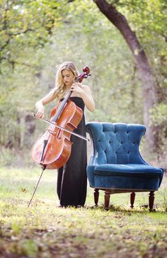 Senior Photography Ideas for orchestra | This beautiful and inspiring senior portrait photo session was sent ...