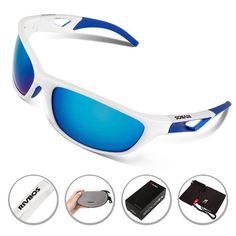 acea23be142 RIVBOS Polarized Sports Sunglasses Mens UV400 Running Goggles Cycling  Eyewear Women Bicycle Bike Sun Glasses Tr90