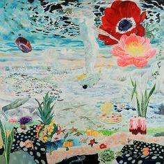 池平撤兵 teppei ikehira 《始まりの終わり》 油彩,キャンバス 162.0 x 162.0cm 2013 photo: HAYAKAWA Koichi