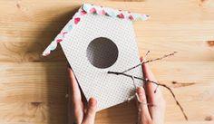virtual real estate: Декоративный скворечник из бумаги