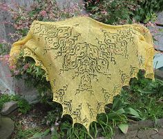 Tuch / shawl *Poesie* by Birgit Freyer $7.50