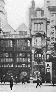 Groom's Coffee House, Fleet Street, London