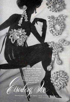 Vintage Jewelry Workshop - Part V Jewellery Advertising, Jewelry Ads, Or Antique, Antique Jewelry, Vintage Jewelry, Antique Brooches, Silver Jewelry, Vintage Costume Jewelry, Vintage Costumes