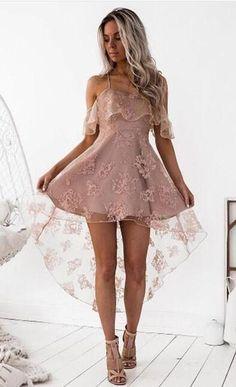 Homecoming Dresses High Low, Hoco Dresses, Cheap Dresses, Short Prom, Formal Prom, Dress Formal, Mini Dresses, Sexy Dresses, High Low Dresses
