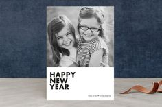 modern new year by Loren Willis at minted.com