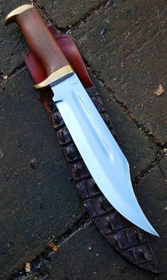 """Commande client Repro Crocodile dundee lame de 26.3 cm forgé en xc75 avec trempe selective , hors tout de 39.4 cm Customer's order , reproduction of Crocodile Dundee , blade of 10.36"""" forged in 0.75 carbon steel with selective temper , oal of 15.52 """" , www.aufildelalame.fr"""