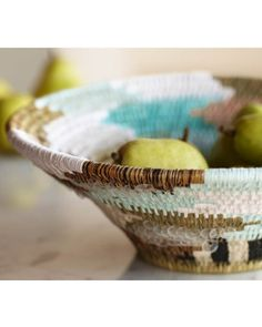This basket is hand-made in the remote town of Lavumisa, Swaziland, using native grasses. Buy it here: http://www.bhg.com/shop/viva-terra-swazi-african-basket-p5020f37882a797dc8952d8e6.html?socsrc=bhgpin102612swazibasket