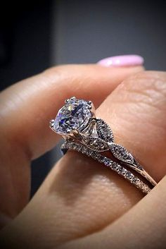 30 Fabulous Wedding Rings That All Women Adore ❤ See more: http://www.weddingforward.com/wedding-rings/ #wedding