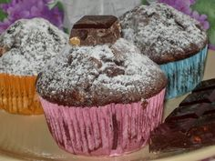 moje záľuby...: muffiny Cupcakes, Breakfast, Food, Morning Coffee, Cupcake Cakes, Essen, Meals, Yemek, Cup Cakes