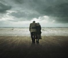 Walks along the beach ...holding each other tight.