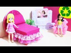Manualidades: Haz una mini camita para tus muñecas - SUPER FÁCIL