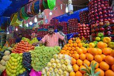 Propiedades de frutas y verduras según su color