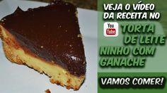 Torta De Leite Ninho Com Ganache! Realmente ficou muito bom! Corre lá pra ver a receita e o preparo ==> bit.ly/Eduardo_Sachs Se inscrevam no meu canal do YouTube e compartilhem a receita!!!