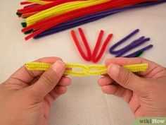 How to Make a St Brigid's Cross with Pipe Cleaners. This article will be telling you how to make a St Brigid's cross out of pipe cleaners. St Brigid is one of Ireland's patron Saints and she made a cross out of rushes to protect her from. Pipe Cleaner Crafts, Pipe Cleaners, St Brigid Cross, Brigid's Cross, Pagan Witchcraft, Spring Art, Patron Saints, Book Of Shadows, Yarns