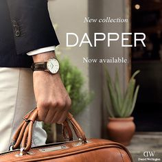 Shop Now! The Daniel Wellington Dapper Collection is now available for purchase in all our stores and online at www.thewatch.co #danielwellington #thewatchco